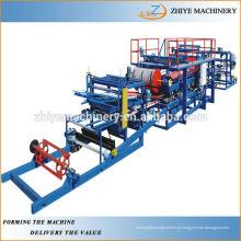 Linha de produção de máquinas de painéis de sanduíche ZHIYE-SP040