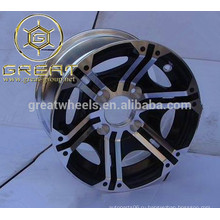 Образец принят 14-дюймовые легкосплавные диски, алюминиевые колеса сплава