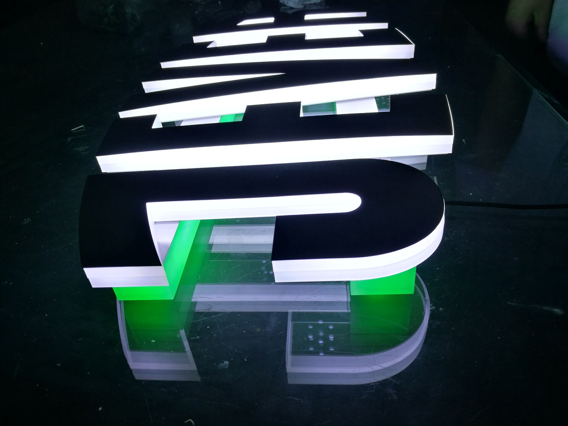 jever metal led sign