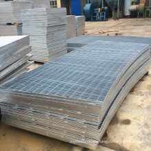 Manufacture Abnormal Shape Bar Steel Deck Grating for Traffic Grates Cover Panels