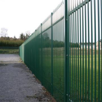 Berkualiti tinggi Galvanized Security Steel Palisade Pagar