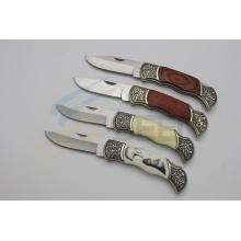 """7.5 """"Folding Knife com alça de padrão (SE-445)"""