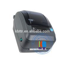 GK420T vêtements entretien étiquette autocollant tissu étiquette code à barres imprimante bureau imprimante industrielle