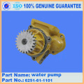 Bomba de água do motor S6D140 6212-61-1305