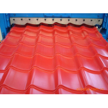1100 glazed tiles roof sheet roll forming machine