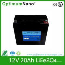 Batterie LiFePO4 de 12V 20ah Golf Trollery
