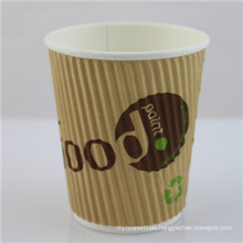 12oz Disposable Coffee Paper Cup with Lid