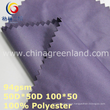 Plain Polyester Memory Fabric for Shirt Lining (GLLML348)