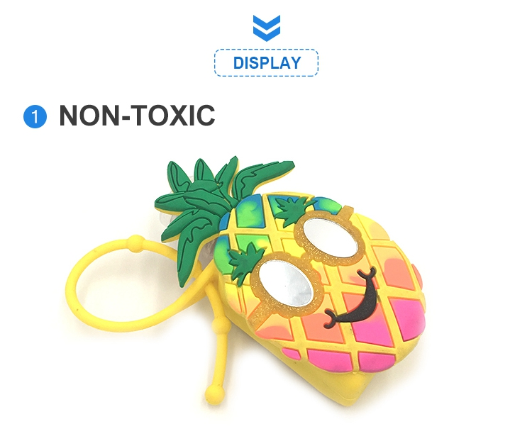 pineapple hand sanitizer holder