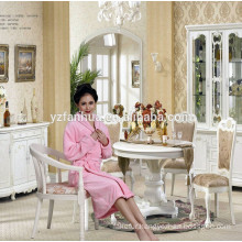 New Design Lace Inlay women Flannel Bathrobes For Women