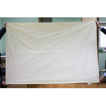 Tissu gris 100% coton 31 * 31 68 * 68 63 '' fabriqué en Chine