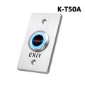 Factory Price Zinc Alloy Access Control Push Button Door Release Exit Button