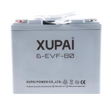 Batería sellada 6-EVF-80 12V 80AH para vagón de carga eléctrico o furgoneta de carga