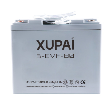 Batterie de scooter électrique haute performance 6-EVF-80 12V 80AH batteries 260 * 168 * 215MM