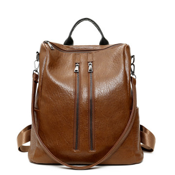 Diseño simple Classic Ladies doble hombro bolsas