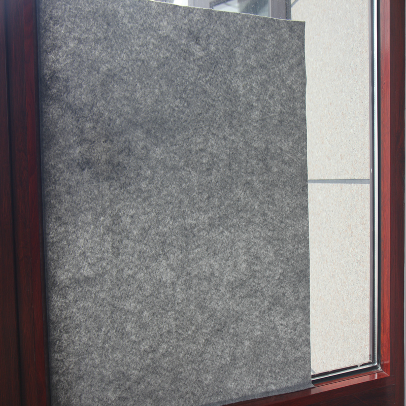 Window Protection Film During Construction