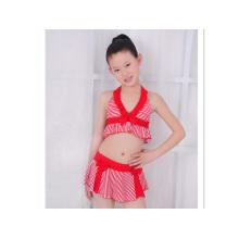 Kleine Mädchen Art und Weise nette Badebekleidung