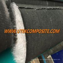 Estera de velo de hilo desmenuzado con fibra de carbono para deshuesar