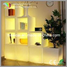 Cubo LED Cadeira Incandescente