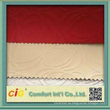 Popular China PU Rexine tela para el sofá
