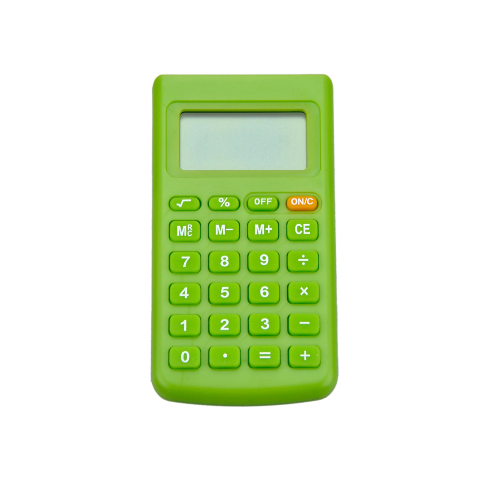 School Stationery 8 Digits Lovely Pocket Calculator
