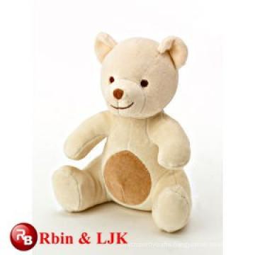 OEM soft good quality organic cotton teddy bear