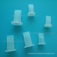 Válvula de manga de bico de silicone de fole de tubo