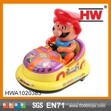 Hot Selling plástico 18CM B / O carro com luz e música brinquedo carro pára-choques