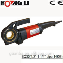 SQ30 portable electric ratchet pipe threader machine with 1350 motor
