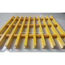 Glasfaserplattformen, die Laufstege für Zugangskonstruktionen gittern