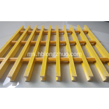 Platform Fiberglass Grating Structures Access Walkways