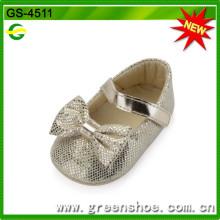 Gute Qualität Heißer Verkauf weiche Babyschuhe (GS-4511)