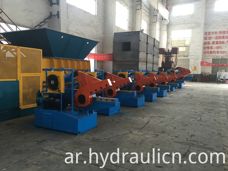 hydraulic scrap metal shear