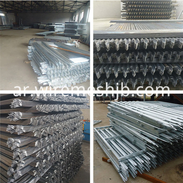 Security Steel Palisade Fencing