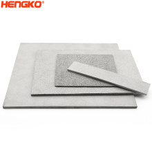 Diameter 2 to 800mm long lifespan sintered stainless steel powder filter plate