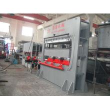 Door frame press machine