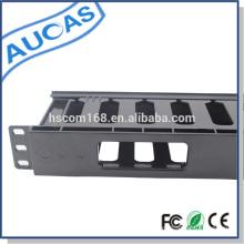 "1U 19"" ABS metal retractable cable management / rack mount amp 12/24 port cable management"