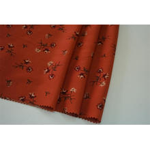 100% Polester Hammered Satin Printed Fabric
