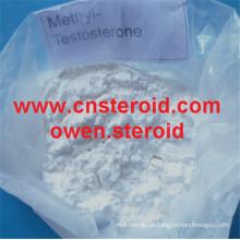 17 suplementos crus da hormona de alimentação de Tilapia do pó da testosterona metílica alfa