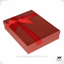 2018 wholesale custom printed cardboard packaging candy and gift red box