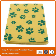 Super Absorbent70%Viscose+30%Polyester Needle Punched Nonwoven Fabric Pet Mat