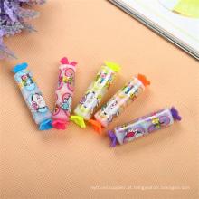 Caneta de marca-texto em forma de mini-doce