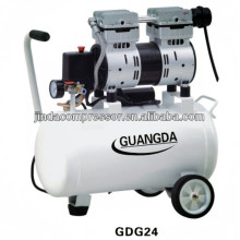 Dentalgeräte CE SGS 30L 850W geräuschlos Öl freie Luft-Kompressor