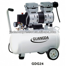 dental equipment CE SGS 30L 850W Noiseless Oil Free Air Compressor