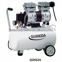 equipamentos odontológicos CE SGS 30L 850W silencioso Compressor de ar livre óleo