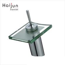 Haijun China Productos Nuevos Manija única de latón de agua fregadero grifo de baño grifo de cascada