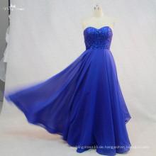 RSE722 Kinder langes Chiffon- königliches blaues Nachtkleid-Abend-Abschlussball kleidet Parteikleid