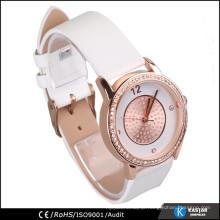 ashimmer rose gold watch, women brand watch wristband