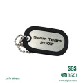 2015 Custom Metal Blank Dog Tag with Silicone Case
