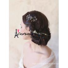 2015 Hot Sale Metal Rhinestone Cristal Bridal Hiar Acessórios / Acessórios de cabelo de casamento